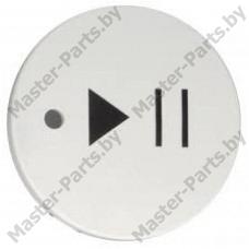 Кнопка СТАРТ-ПАУЗА стиральной машины Атлант 771239200802, Maxi Function