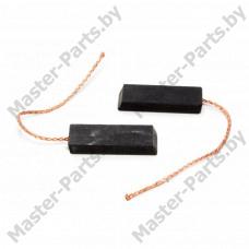 Щетки угольные 5х13.5х35 (однослойные, контакт сзади), к/т 2 шт.