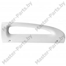 Ручка холодильника Стинол, Индезит 857151 (нижняя, белая, 245 мм)