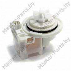 Сливной насос Bosch Copreci 30W (4 защелки, фишка вперед), круглый