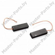 Щетки угольные 5*13.5*35 мм (двухслойные, контакт сзади), 1 шт.