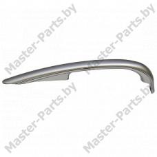 Накладка ручки холодильника Атлант 331603304605 (нижняя, серебро)